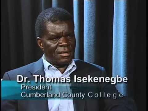 "Cumberland County College - ""Insights"" Dr. Thomas Isekenegbe"