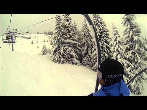 Les Gets Lads' Ski Trip.
