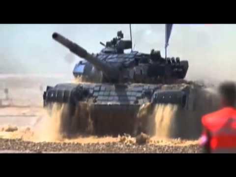 Т-72 против Type-96. Соревнования в реальных условиях. Часть 2