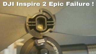 Dji Inspire 2 Prop / Motor  Problems 8 cases  so fare