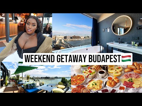 GIRLS WEEKEND GETAWAY IN BUDAPEST HUNGARY🇭🇺  HOTEL CLARK, LEO ROOFTOP,BLENDED SKYBARl LUCY BENSON