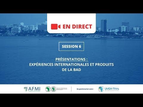 Atelier AFMI/BAD 2017 / Session 6 : Expériences Internationales et Produits de la BAD