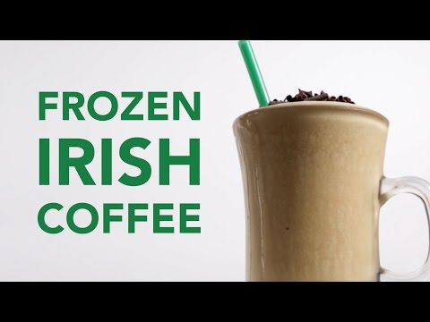 Frozen Irish Coffee Recipe