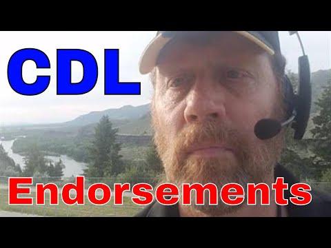 CDL Trucker Endorsements   #6 Is Magical   RVT   Red Viking Trucker   Werewolf Trucker   Crude Oil