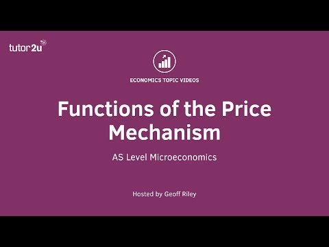 Functions of the Price Mechanism