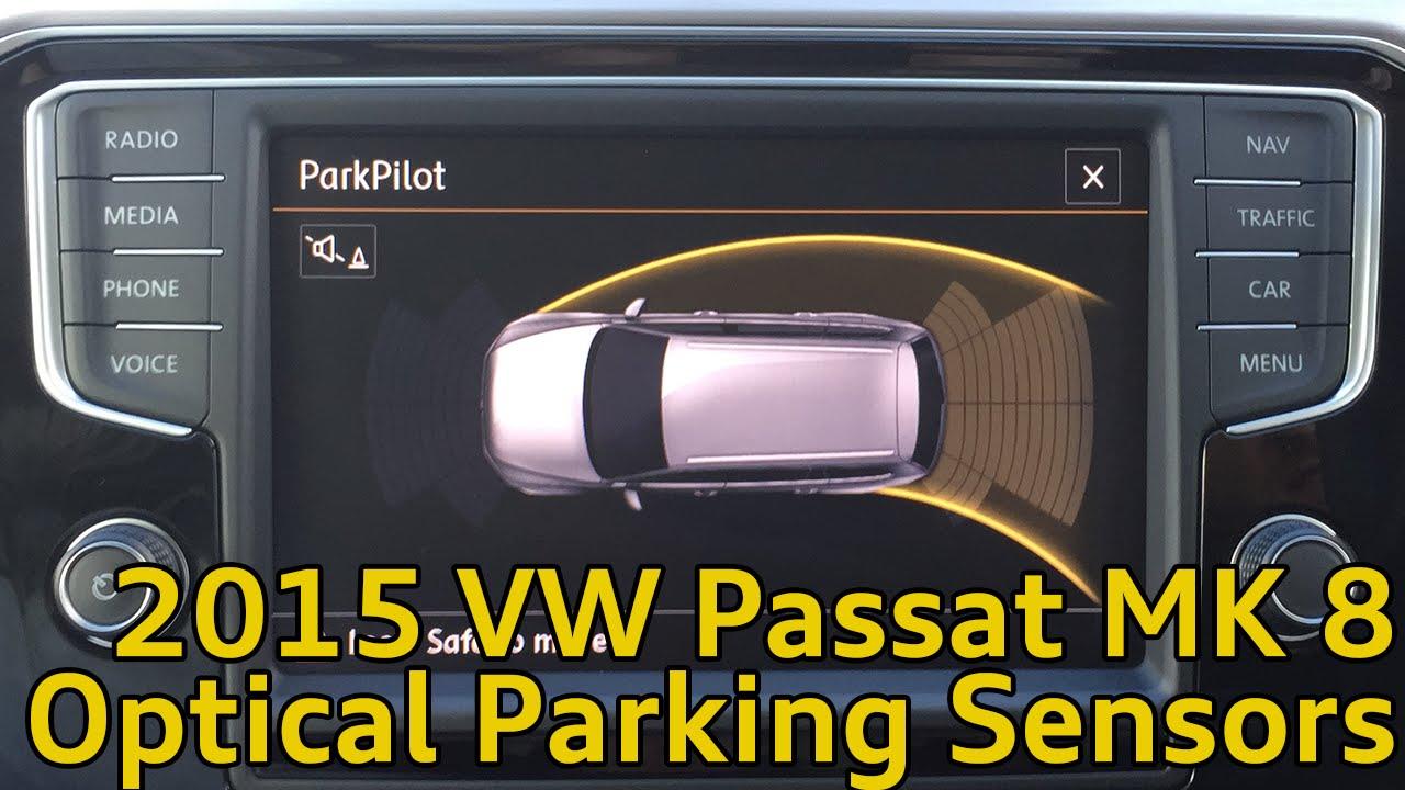Volkswagen Passat MK8 Front and Rear Optical Parking ...