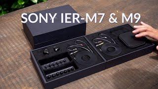 Mở hộp và nghe thử bộ đôi tai nghe monitoring Sony IER-M7 và M9