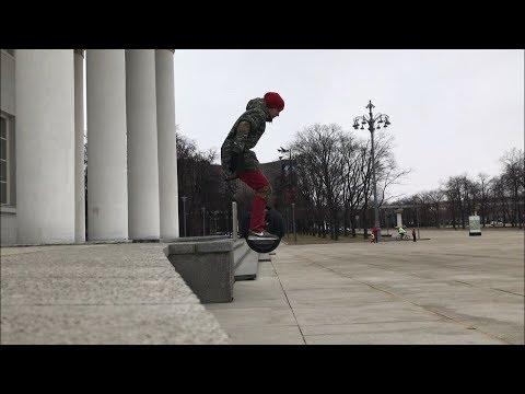 Моноколесо трюки 2019 Москва Россия  Unicicle Tricks Russia 2019 Kingsong 14 DS