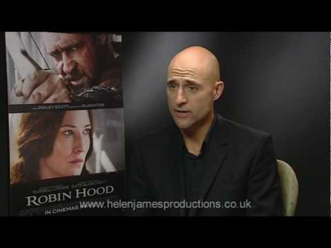 Mark Strong 'Sir Godfrey' interview:  Robin Hood