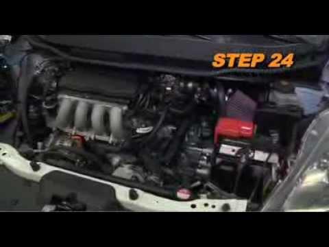 2009 2013 Honda Fit 1 5l K Amp N Air Intake Installation