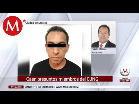 CJNG: detienen en Venustiano Carranza a jefe de plaza en CdMx
