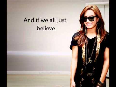 04. Together - Demi Lovato feat. Jason Derulo - Unbroken - LYRICS ON SCREEN