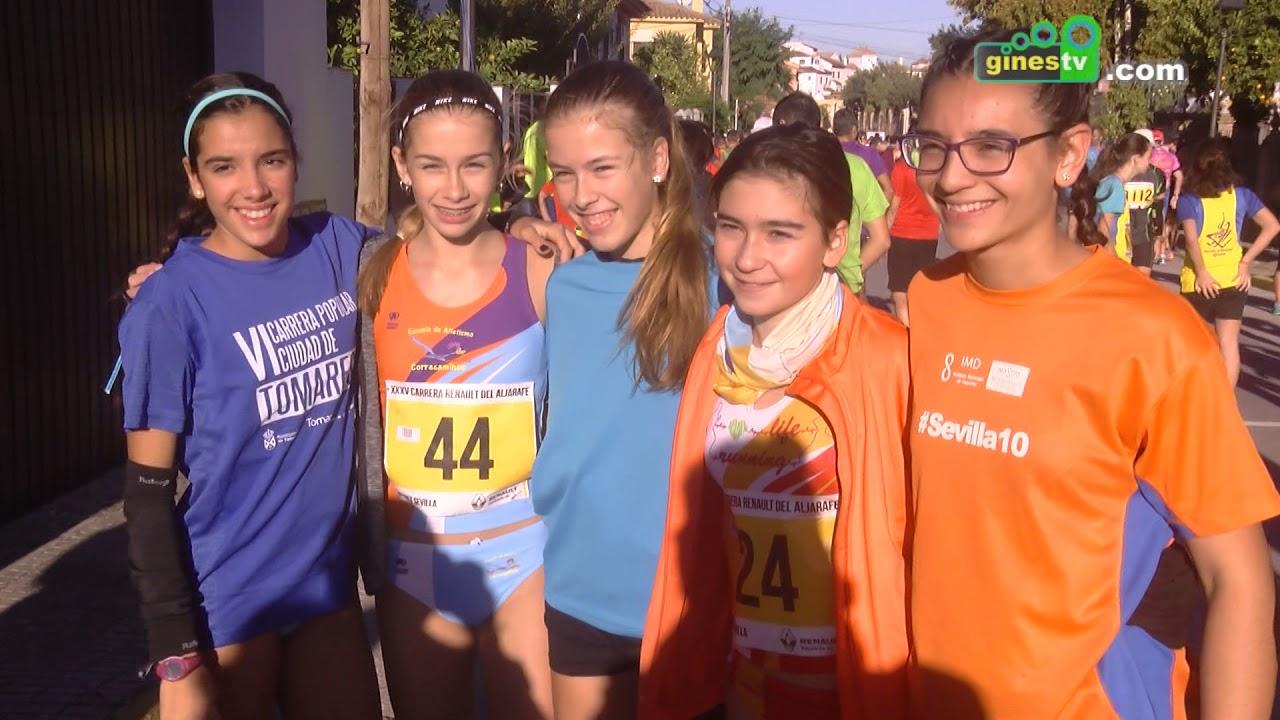 Más de 1.300 corredores tomaron parte en la XXXV Carrera Renault del Aljarafe