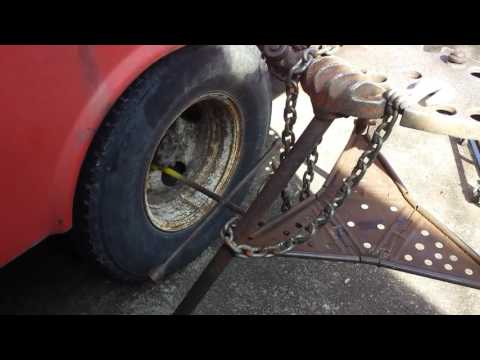 stuck lug nut removal without an impact wrench