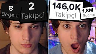 TIKTOK; getting famous in 1 week.