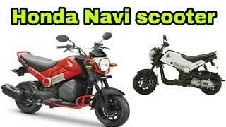 Honda Navi Scooter Review 2018