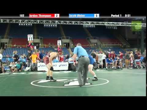 182 Jordan Thompson vs. Jacob Weber