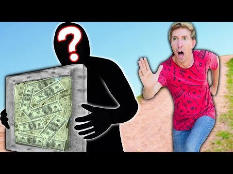 $10,000 is MISSING from My SAFE HOUSE! I Chase Hacker PZ9 & Battle Royal to Win the Money Challenge