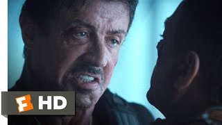 The expendables 2 (8/8) movie clip - ross vs. vilain (2012) hd