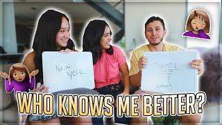 WHO IS THE BETTER BEST FRIEND? ft. Franny Arrieta & David Alvarez