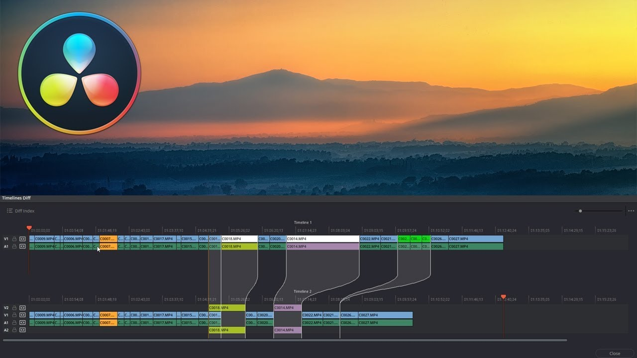 Timeline tools and tips for DaVinci Resolve 15