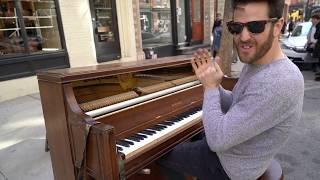 Street Piano in Paris Re-improvised