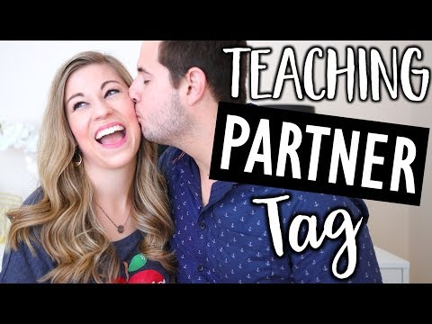 The Teacher Partner Tag | Teacher Summer Series Ep 14