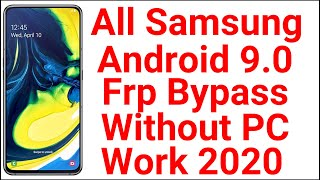 Frp Bypass 2020 Samsung Without PC | All New Samsung Frp Bypass | A20s A30s A51 A70s A80 Frp Bypass