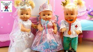 Bebés NENUCO Hermanitas Traviesas compran DISFRACES de CARNAVAL en la BOUTIQUE NENUCO