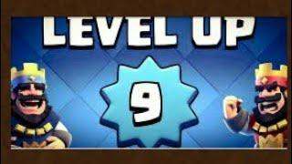 Subo a nivel 9+nuevo overlay|Clash Royale-POREX COC Y CR