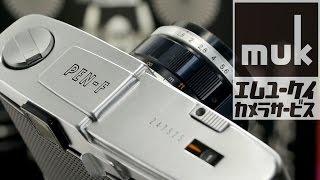 Олімпус Пен-Ф/фут як використовувати плівковий фотоапарат. Знято на GH4