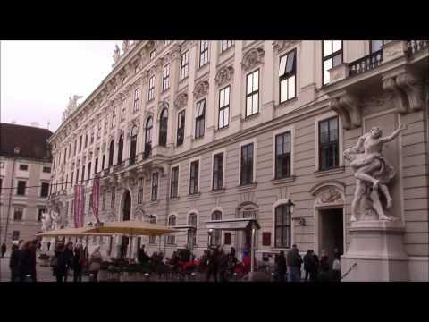 Vienna Streets - Wien, from Michaelerplatz to Heldenplatz