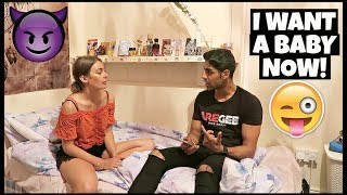 LET'S HAVE A BABY PRANK | ft. Anna Zapala