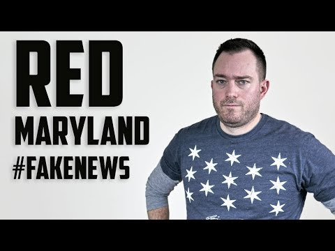 Red Maryland = Conservative #FakeNews?