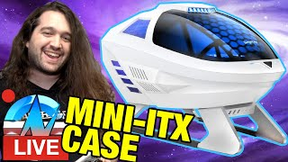 LIVE: Mini-ITX PC Build with Weird Spaceship PC Case