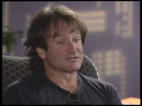 Robin Williams .. The Fisher King interview with Jimmy Carter
