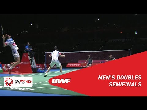 SF | MD | GIDEON/SUKAMULJO (INA) [1] vs. LI/LIU (CHN) [3] | BWF 2019