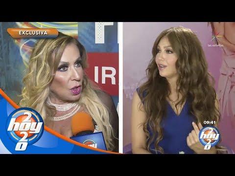 ¿Laura Zapata se quiere parecer a su hermana, Thalía? | Hoy