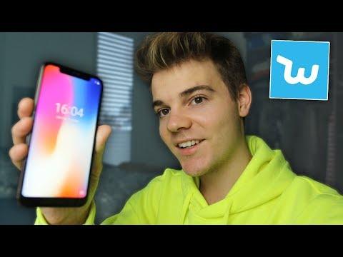 Ein iPhone X für 104€ von WISH! (Es funktioniert !!)