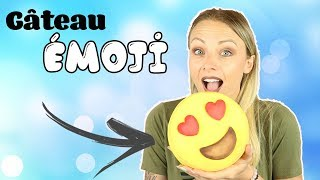 ♡• COMMENT FAIRE UN GATEAU ÉMOJI ? •♡