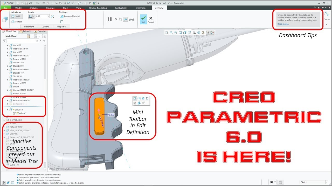 Creo Parametric 6 0 First Look