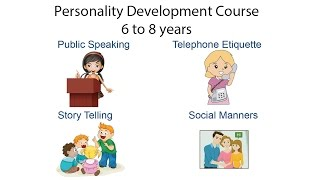 Personality Development class for children (6 to 8 years)