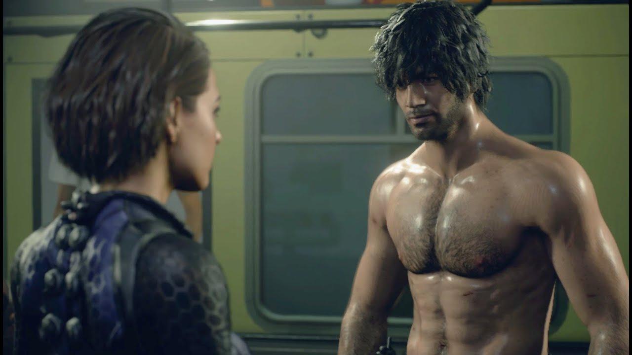 Resident Evil 3 Remake Demo Shirtless Carlos X Battle Suit Jills