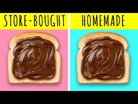 HOW TO MAKE REAL NUTELLA AT HOME