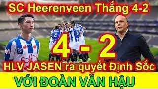Bóng đá sáng 21/10: SC Heerenveen Đại Thắng 4-2, HLV Jasen ra quyết đinh SỐC cho VĂN HẬU