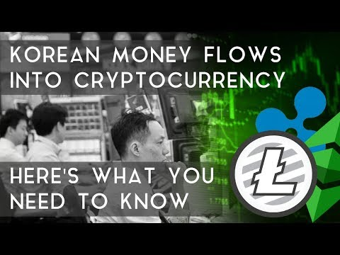Korean Money Flows Into Cryptocurrency: Here's what you need to know