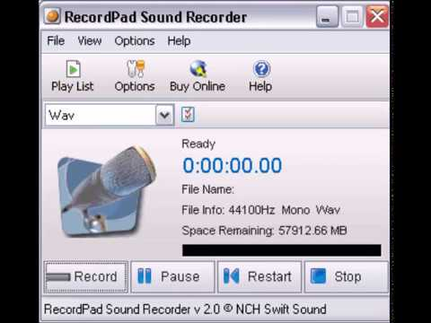 recordpad - enregistreur audio