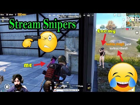 Caught in Stream Snipers Trap || Groza - PUBG MOBILE