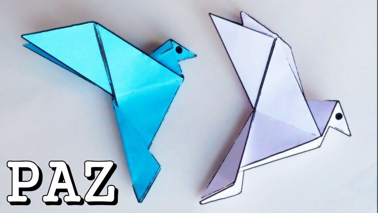 Paloma de la Paz - Origami - ViYoutube - photo#30