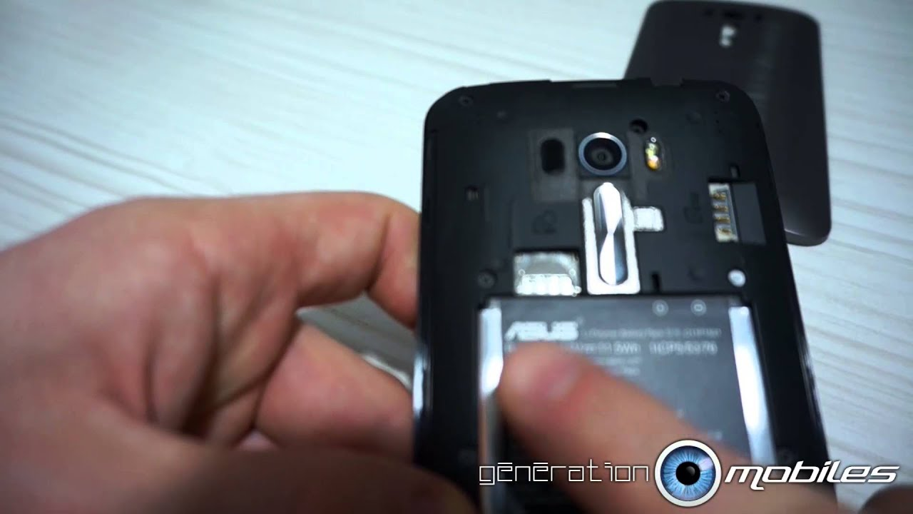 comment mettre la carte sim TUTO Zenfone Selfie comment mettre une carte SIM et micro SD   YouTube